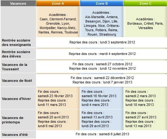 Vacances scolaires dans Date à retenir calendrier-scolaire-2012-2013